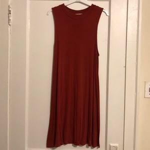 AMERICAN EAGLE - Rust Sleeveless Dress!